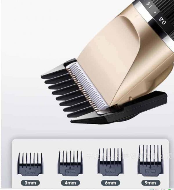 JC Professional - Draadloze tondeuse (USB oplaadbaar) complete set - Low budget tondeuse JC Professional