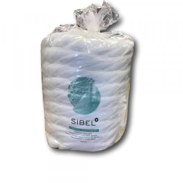Sibel- 100% Katoen Kapperswatten - 1000gr JC Professional